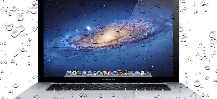 Cómo arreglar Mac mojado